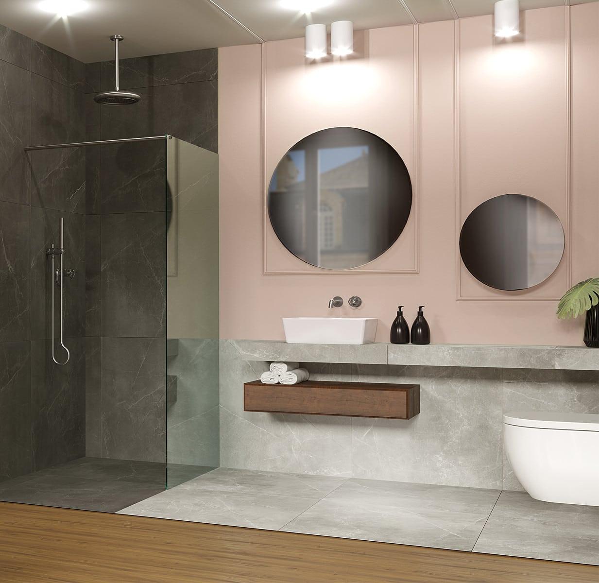 łazienka Art Deco Galeria Wnętrz Katowice Home Concept