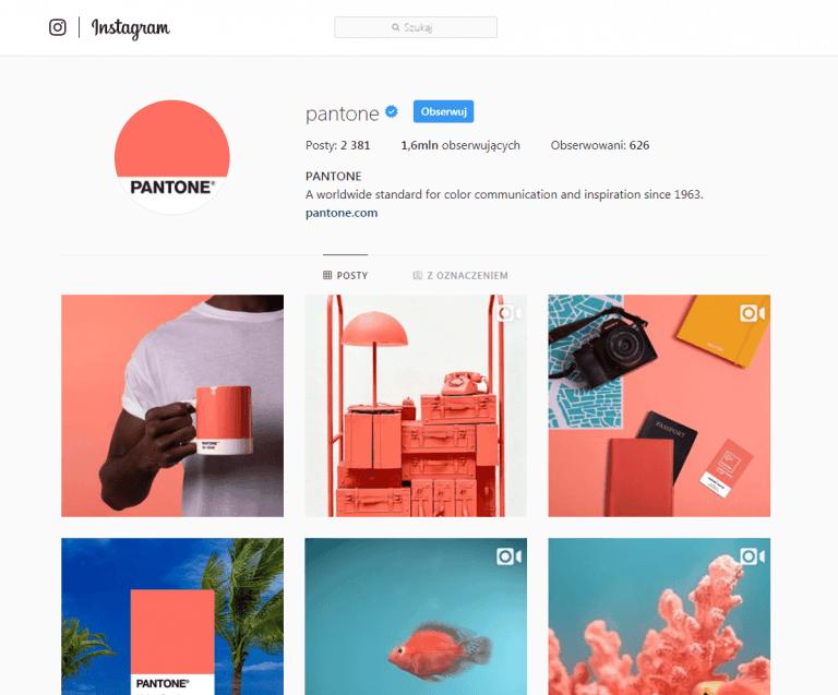 Instagram @Pantone